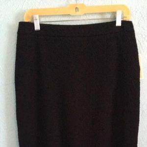 Michael Kors NWT black skirt